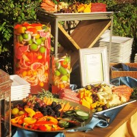 Moroccan Crudite Station