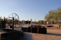 Amazing setups for Desert Foothills Venue