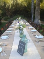 Kings tables and a great way to have your guests socialize