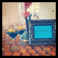 Signature drinks are a great idea for a wedding