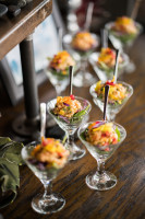 Toasted Coconut Ceviche