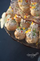 Thai Chili Goat Cheese Profiteroles