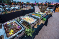 Buffets are Ready at Desert Foothills