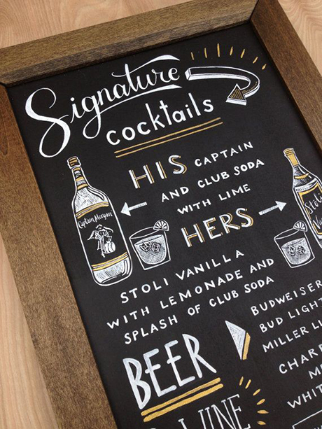 his-and-hers-drink-menu-illustrated-chalkboard