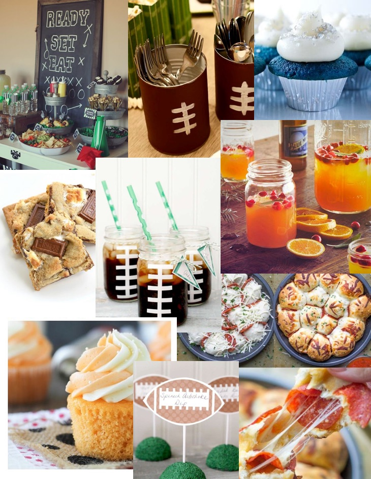 Super Bowl Collage